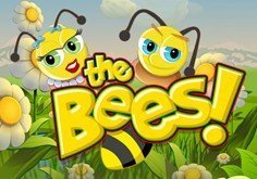 The Bees Pokie Logo