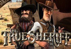 The True Sheriff Pokie Logo