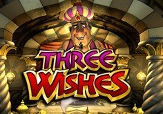 Three Wishes Pokie Logo