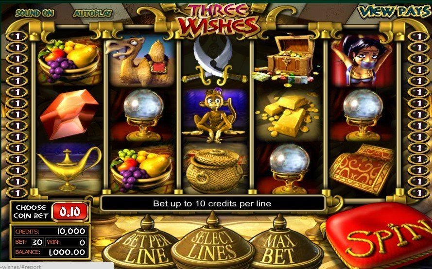 Three Wishes Pokie