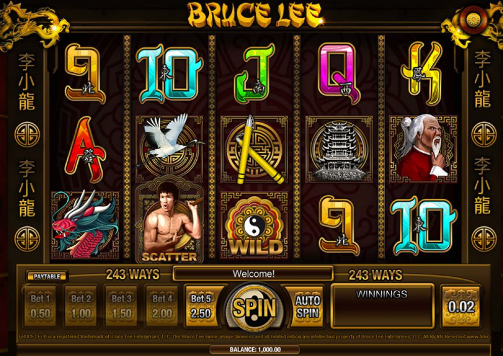 Bruce Lee Pokie