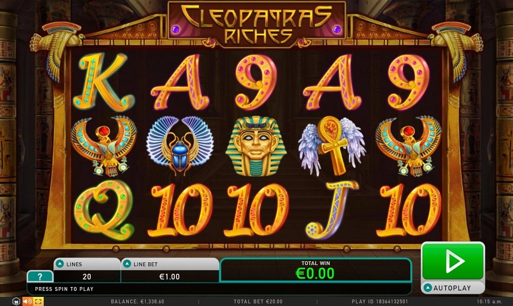 Cleopatras Riches Pokie