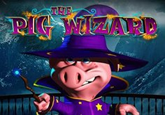 Harry Trotter The Pig Wizard Pokie Logo