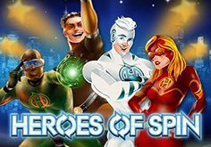 Heroes Of Spin Pokie Logo