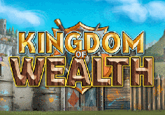 Kingdom Of Wealth Pokie Logo