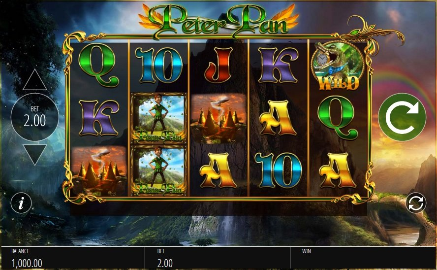Peter pan pokie by blueprint gaming play online for free peter pan pokie malvernweather Image collections