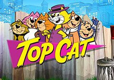 Top Cat Pokie Logo
