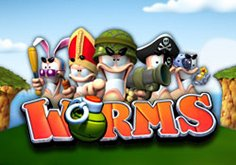 Worms Pokie Logo