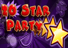 20 Star Party Pokie Logo