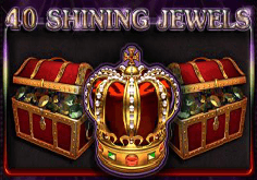 40 Shining Jewels Pokie Logo