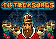 40 Treasures Pokie Logo