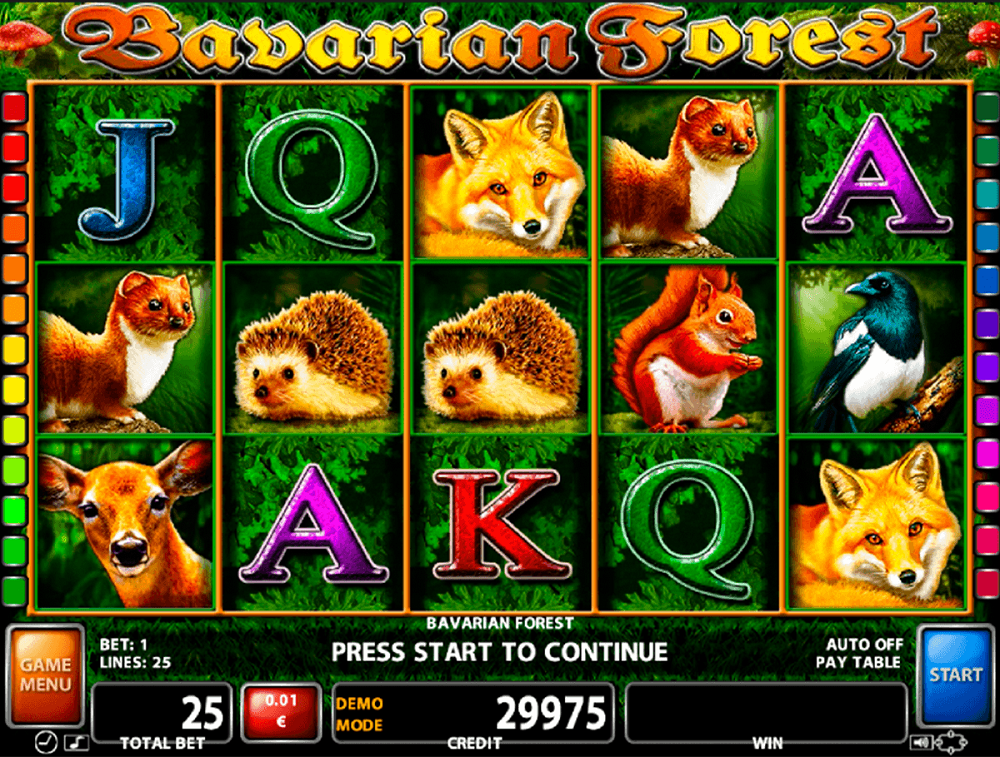 Bavarian Forest Pokie
