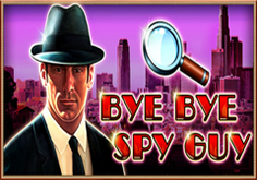 Bye Bye Spy Guy Pokie Logo