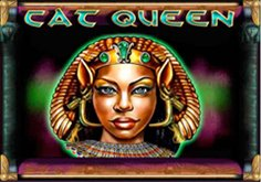 Cat Queen Pokie Logo
