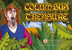 Columbus Treasure Pokie Logo