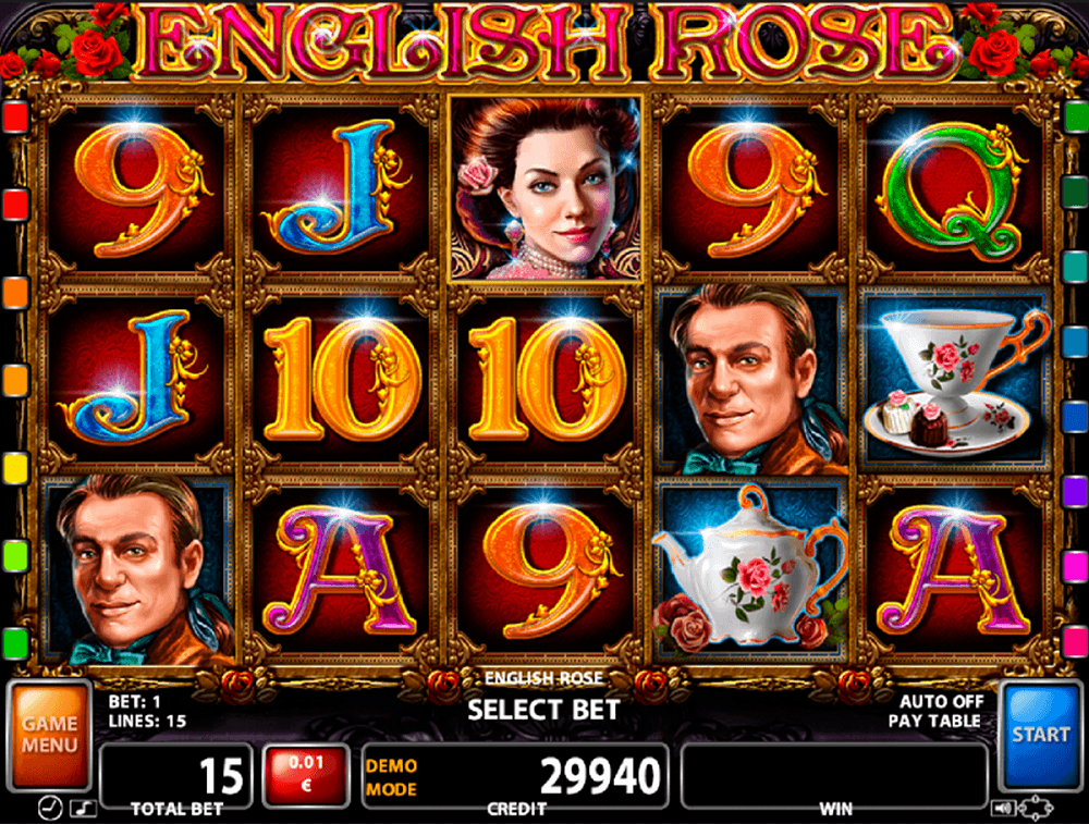 English Rose Pokie