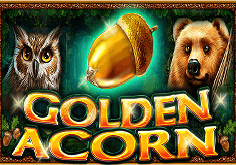 Golden Acorn Pokie Logo