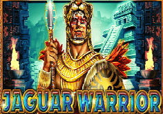 Jaguar Warrior Pokie Logo