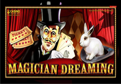 Magician Dreaming Pokie Logo