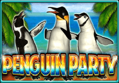 Penguin Party Pokie Logo