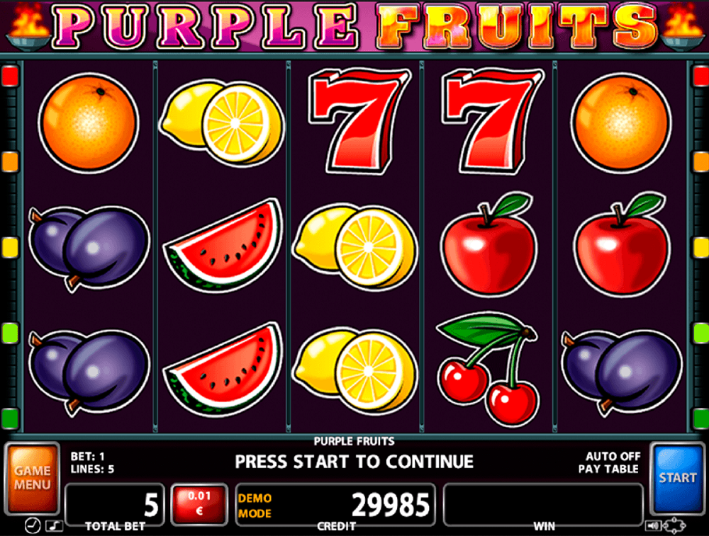 Casino Games Fruit Free