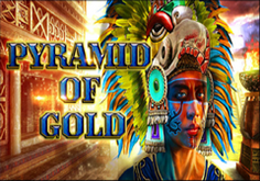 Pyramid Of Gold Pokie Logo