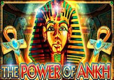 The Power Of Ankh Pokie Logo