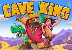 Cave King Pokie Logo