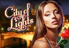City Of Lights Pokie Logo