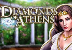 Diamonds Of Athens Pokie Logo