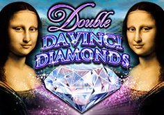 Double Da Vinci Diamonds Pokie Logo