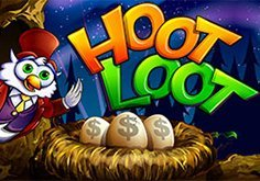 Hoot Loot Pokie Logo