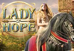 Lady Of Hope Pokie Logo