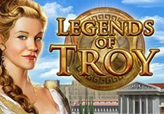 Legends Of Troy Pokie Logo