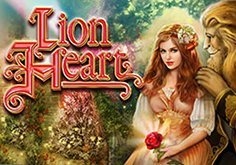 Lion Heart Pokie Logo