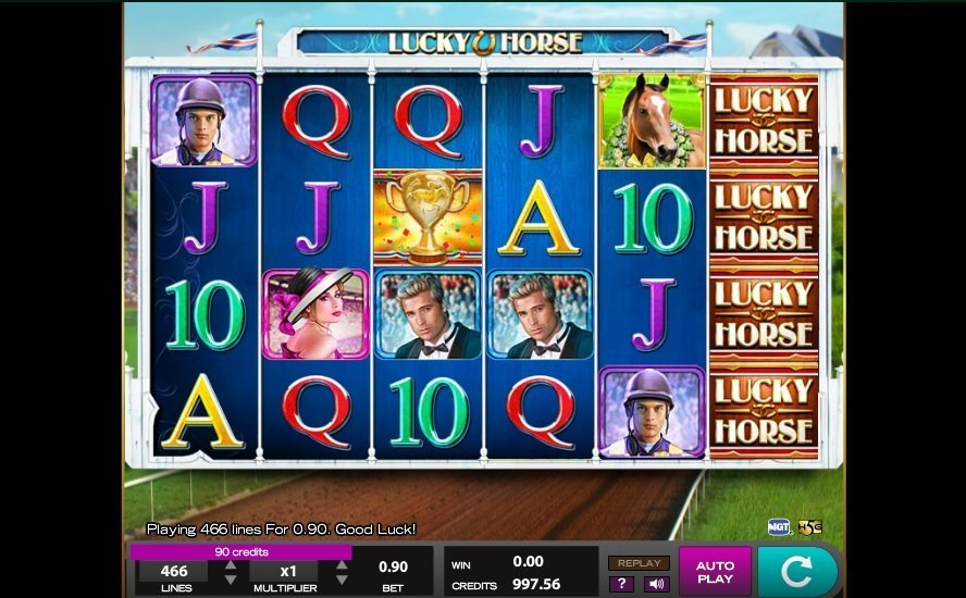 Lucky Horse Pokie
