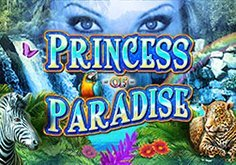 Princess Of Paradise Pokie Logo