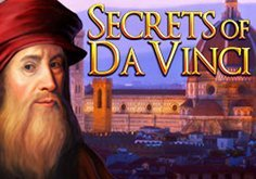 Secrets Of Da Vinci Pokie Logo