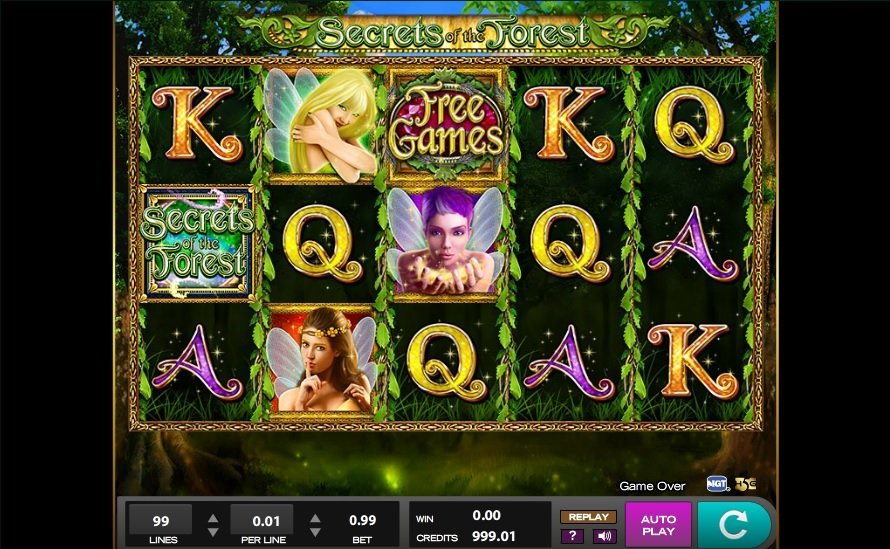 Secrets Of The Forest Pokie