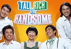 Tall Rich And Handsome Pokie Logo