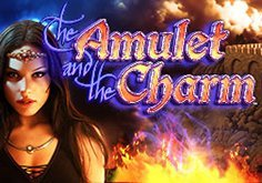 The Amulet And Charm Pokie Logo