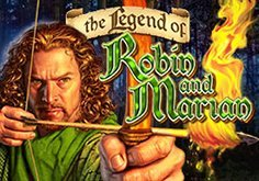 The Legend Of Robin And Marian Pokie Logo