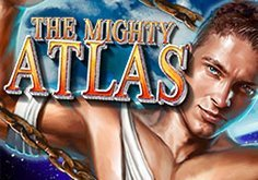 The Mighty Atlas Pokie Logo
