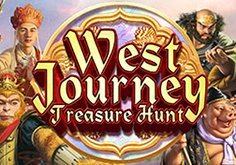 West Journey Treasure Hunt Pokie Logo