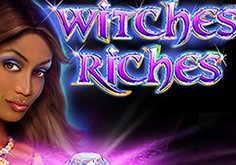 Witches Riches Pokie Logo