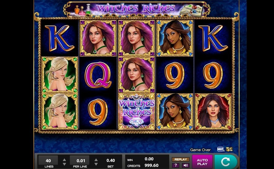 Witches Riches Pokie