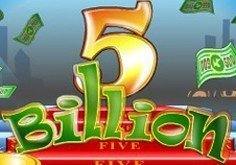 5 Billion Pokie Logo
