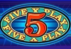5x Play Pokie Logo