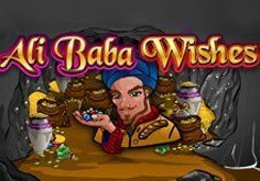 Ali Baba Wishes Pokie Logo