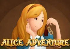 Alice Adventure Pokie Logo